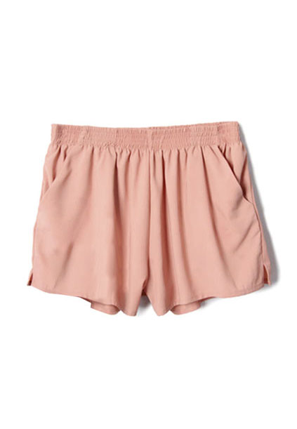 blush chiffon shorts | SHOP fashion distraction
