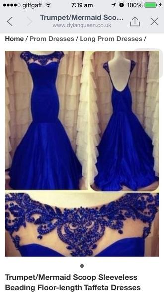 dress blue dress prom dress