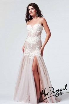 Mac duggal lace corset prom dress 10000m