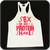 Sex Weights & Protein Stringer Vest White | Vain Train