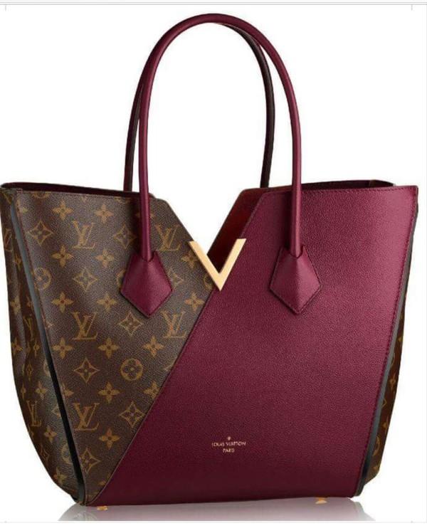 Bag Burgundy Louis Vuitton Louis Vuitton Bag Burgundy