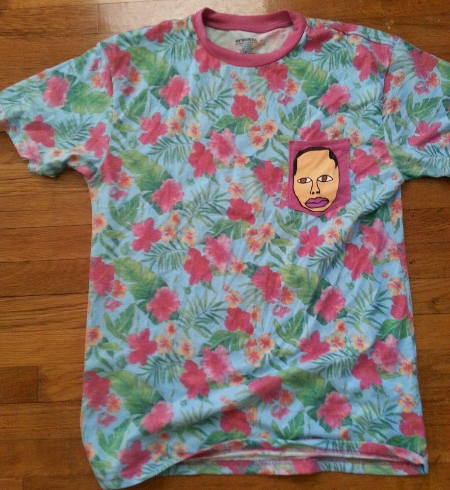 Earl Sweatshirt Floral Pocket Tee Odd Future OFWGKTA Tyler The Creator Lot | eBay