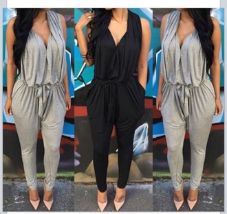 jumpsuit nude high heels spring outfits