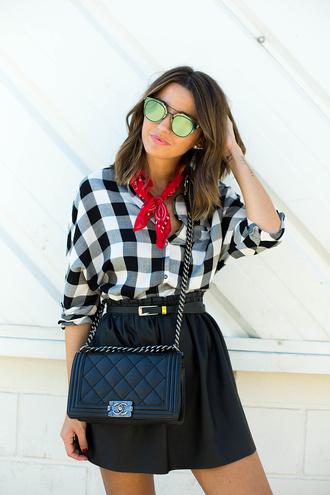 shirt lovely pepa blogger skirt