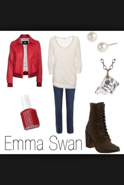 sweater emma swan shirt