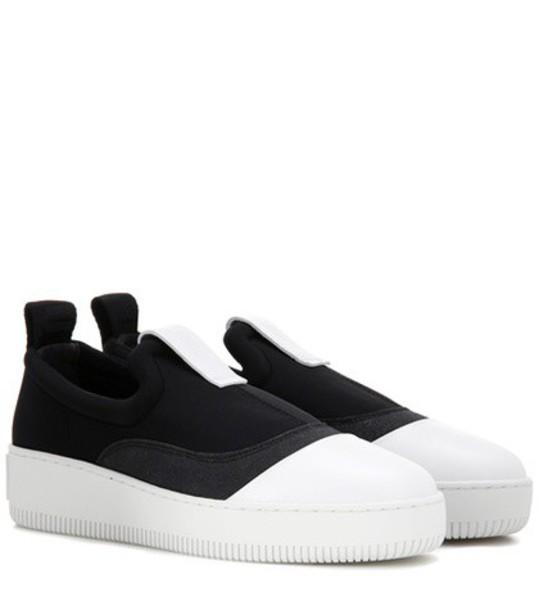 McQ Alexander McQueen Slip-on Sneakers in black