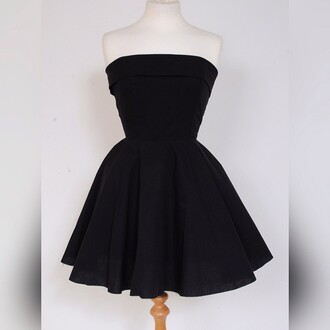 dress styleiconscloset 50s style fifties black dress little black dress