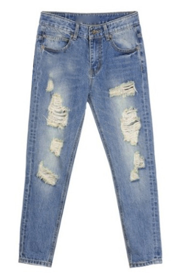 Dora ripped jeans
