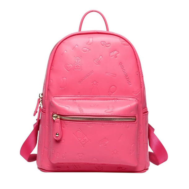 Bag: backpack, school bag, fashion, pink, beautiful, preppy, new ...
