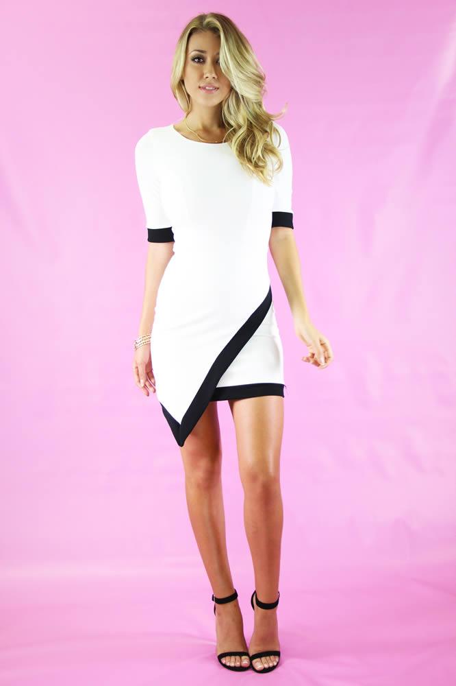 Dreaming Night Bodycon Dress @ LushFox.com :: Current Fashion Trends & Styles