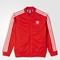 Adidas superstar jacket - lush red,white | adidas us