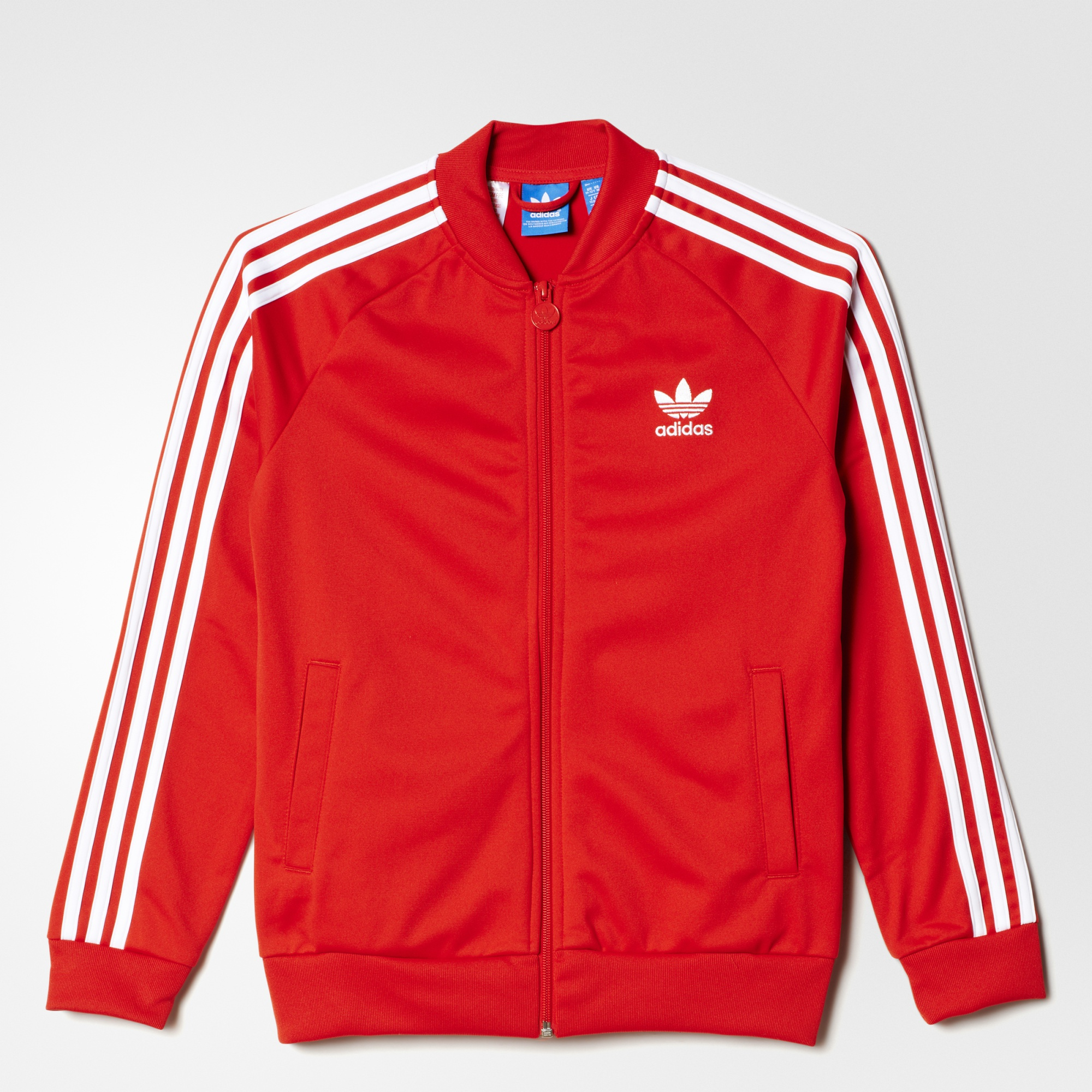 adidas superstar jacket lush red white adidas us. Black Bedroom Furniture Sets. Home Design Ideas
