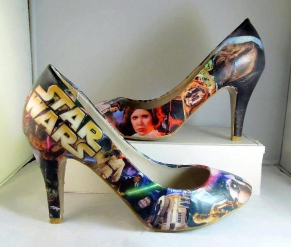 shoes star wars nerd heels