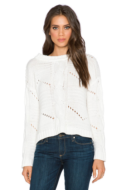 525 america sweater white