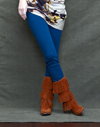 Minnetonka - Classic Fringe Boot Hardsole (Woman)