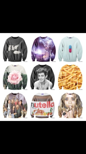 sweater quote on it peri.marie need this sweaters now! cute french fries shirt french fries 3d sweatshirts