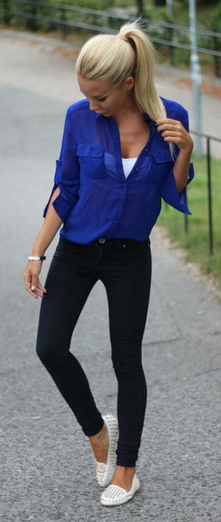 jeans casual top style fashion