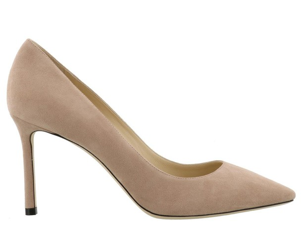 Jimmy Choo ballet pink shoes