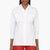 dsquared2 white termo safari blouse