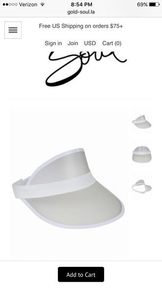 hat visor clear visors summer visor hats