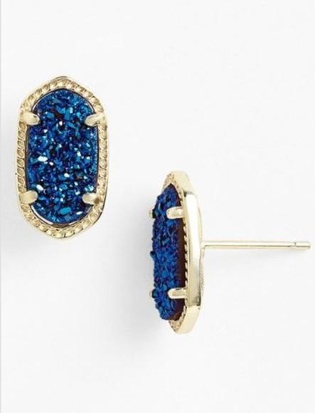 jewels earrings stone