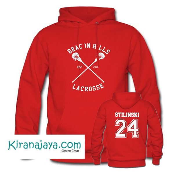 Beacon Hills Stilinski 24 Hoodie Two Side – Kirana Jaya