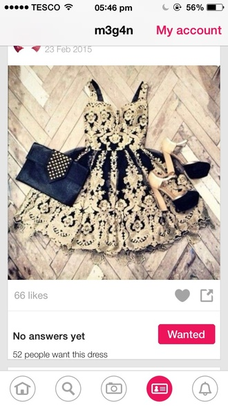 dress gold and black gold dress black dress gold black beautiful prom prom dress cute dresses summer cute summer dress ball gown perfect