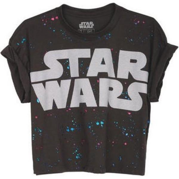 t-shirt star wars t-shirt shirt top tank top