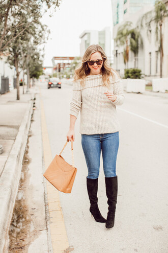 miami + dallas based lifestyle and fashion blog blogger sweater jewels sunglasses bag shoes winter outfits boots