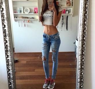 jeans destroyed jeans skinny jeans