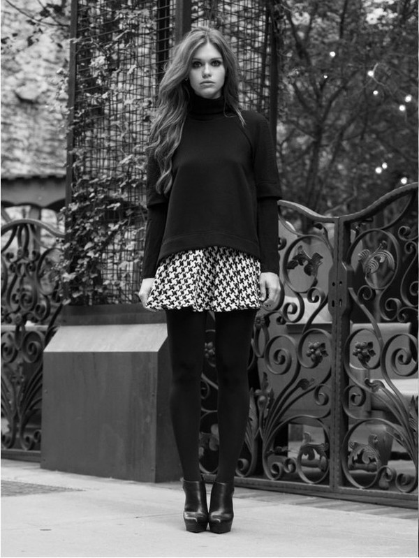 sweater skirt fall outfits holland roden