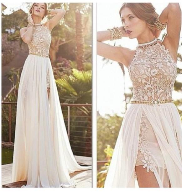 dress prom dress prom beige beige dress elegant long