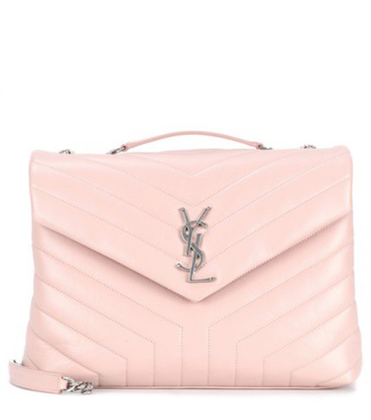 Saint Laurent bag shoulder bag leather pink