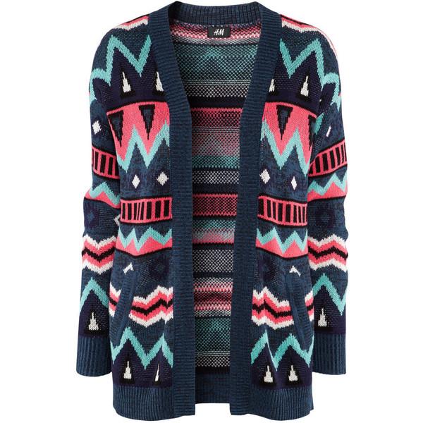 H&M Cardigan £24.99 - Polyvore