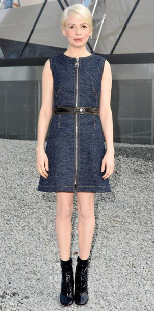 dress michelle williams short dress