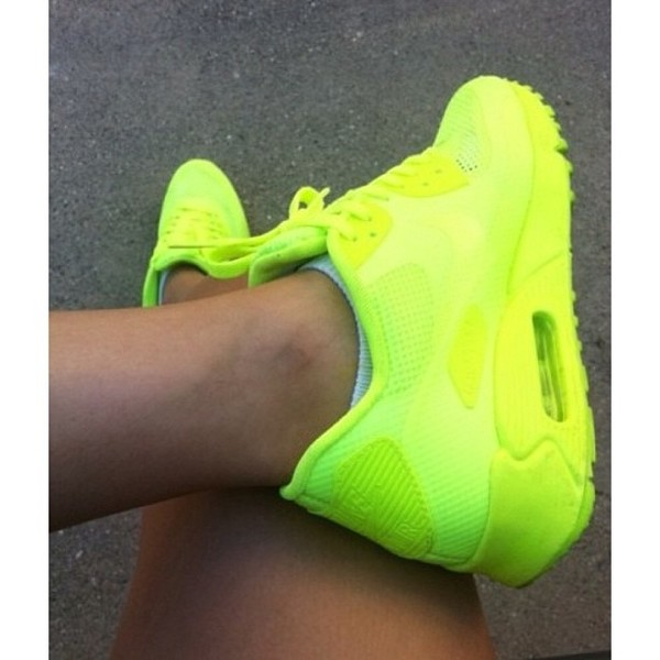 shoes air max green