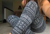 pants,aztec,aztec leggings,tribal pattern,black and white,tights