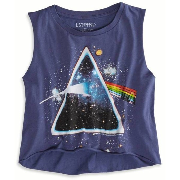 American eagle outfitters lst & fnd pink floyd muscle tank