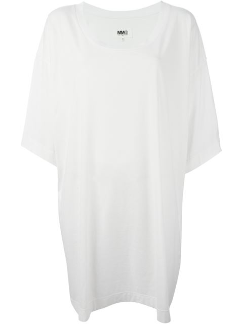 Mm6 Maison Margiela Inside Out T-shirt Dress - Societe Anonyme - Farfetch.com