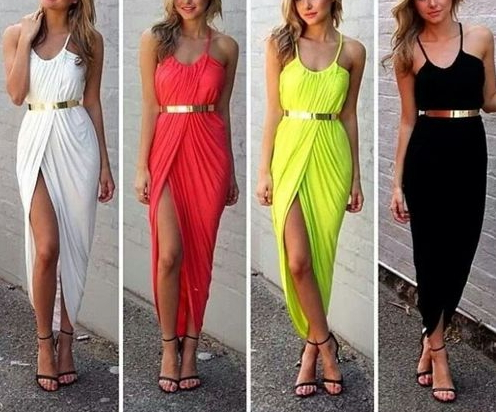 Empire Maxi Dress