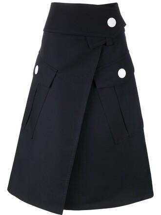 skirt maxi blue