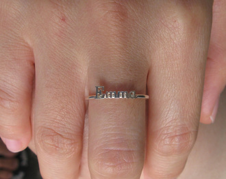 stacked jewelry jewels ring minimalist jewelry handmade name ring silver name ring stacking ring initial name ring dainty ring personalized gift mom gift baby name ring hanwriting font lover gifts simple ring the perfect gift