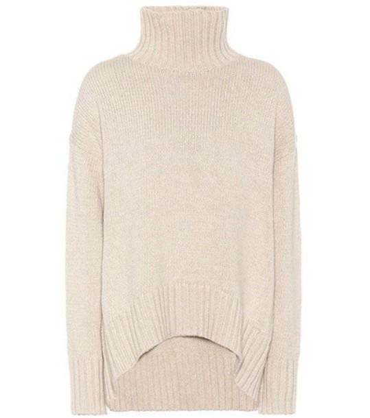 Joseph sweater turtleneck turtleneck sweater cotton beige