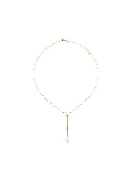 Savoir women necklace diamond necklace gold grey metallic jewels