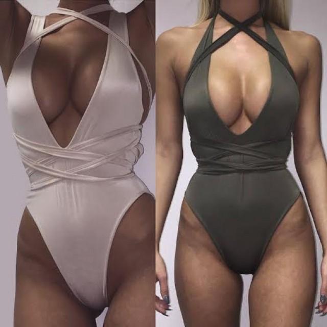 Ibiza Cross Chested Swim Costume