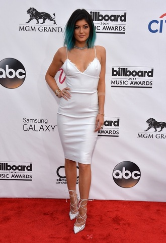 shoes strappy heels kylie jenner gladiators style white high heels classy heels