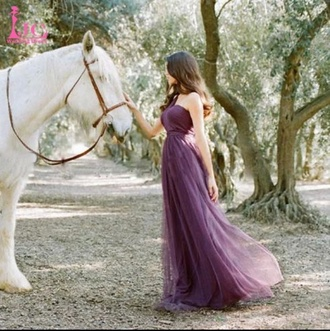 dress clothes princess dress fairy dress wedding dress wedding clothes purple dress dream it wear it beautiful boho dress hot pretty flowy flowy dress tulle dress