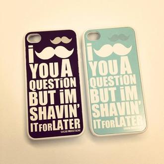 moustache jewels iphone 5s case iphone