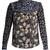 Patchwork floral-print silk blouse