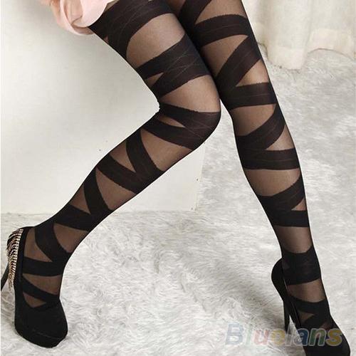 Sale free ship sexy pantyhose black leggings  from synedya_shop on storenvy